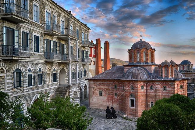 Ιερά Μεγίστη Μονή Βατοπαιδίου Holy Great Monastery Vatopediou