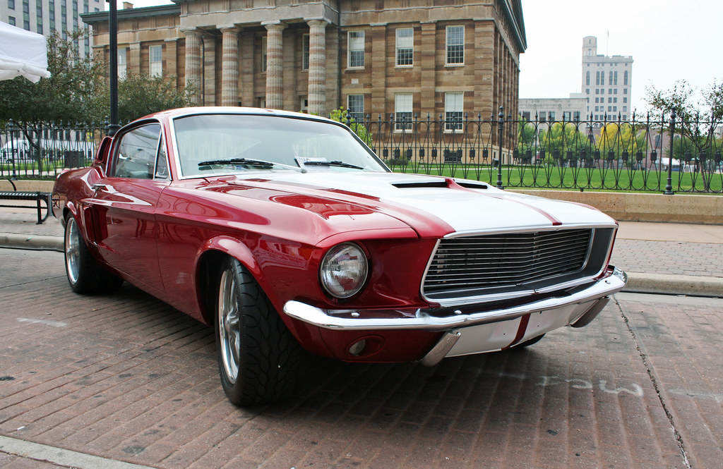 1967 Ford Mustang 2+2 Fastback (1 of 5)