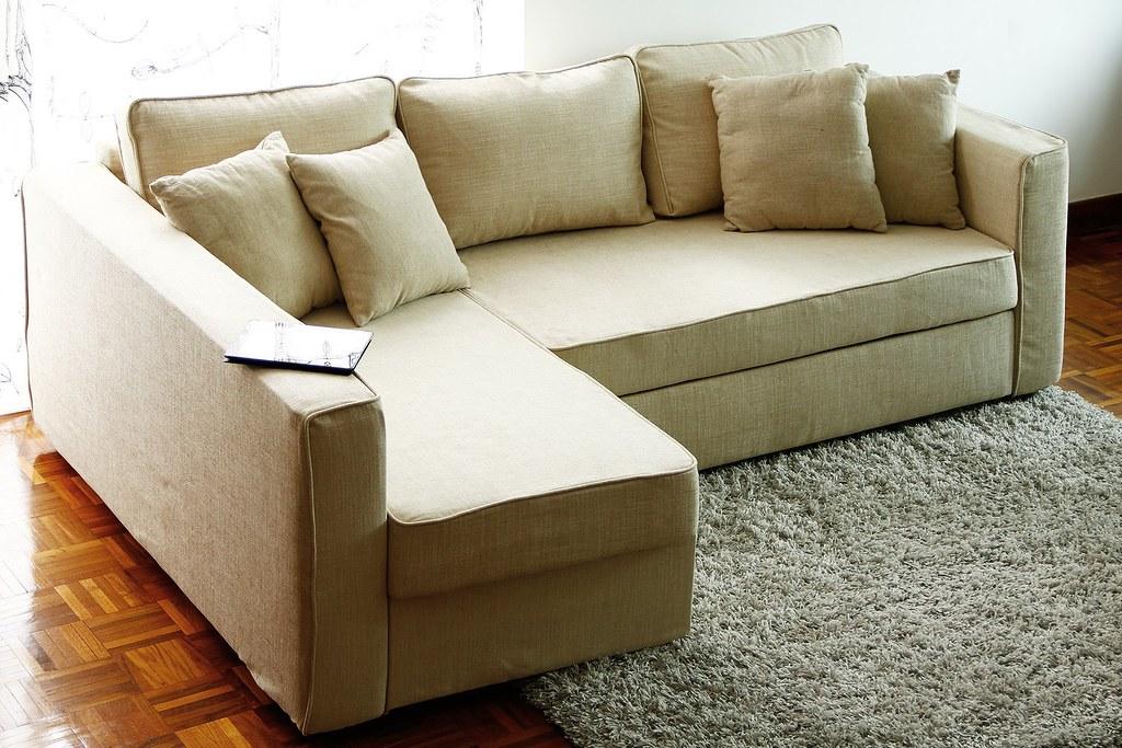 Super Ikea Manstad Sofa Cover Snug Fit Style Slipcover Linen C Short Links Chair Design For Home Short Linksinfo