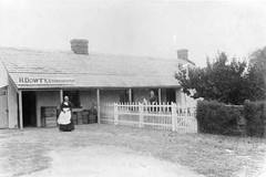 Dowty's shop Willunga, c 1896.
