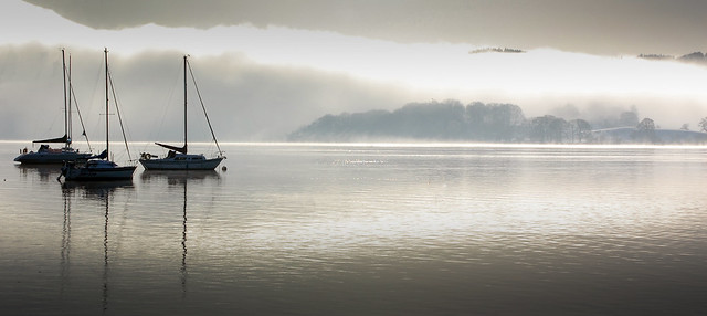 calm on windermere