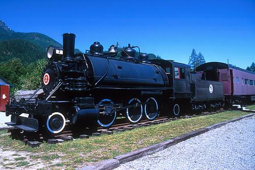 West Coast Railway Heritage Park, Squamish, Howe Sound, Squamish Valley, Sea to Sky, British Columbia, Canada