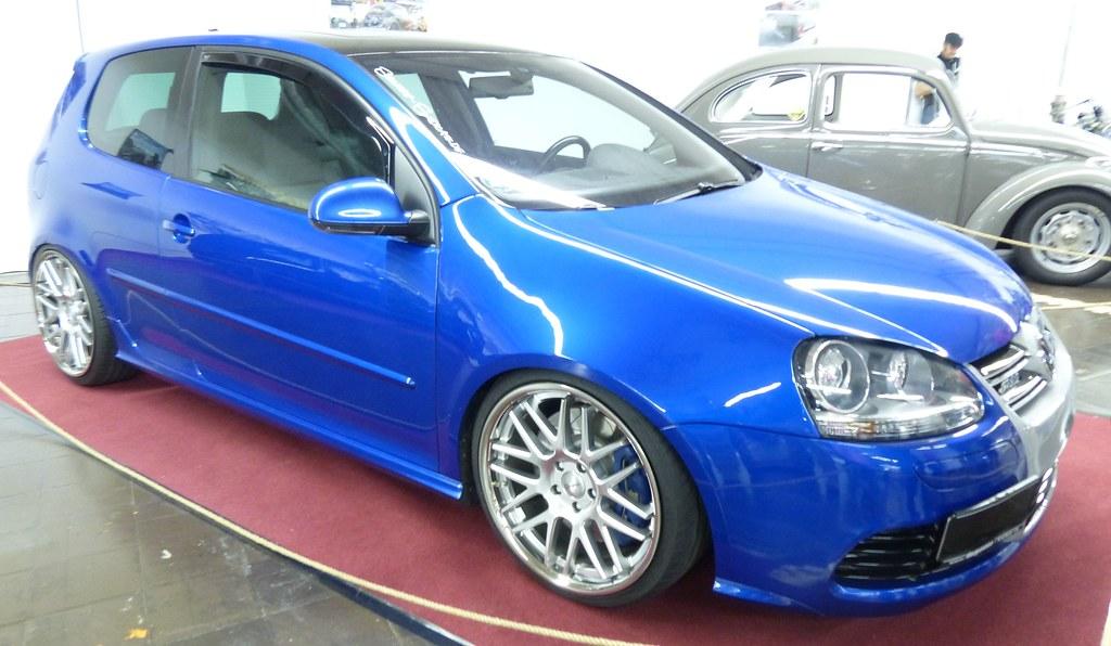 VW Golf 5 R32 2008 blue vr   stkone   Flickr