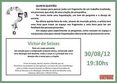5.ª Questão Victor de Seixas - 30-08-2012