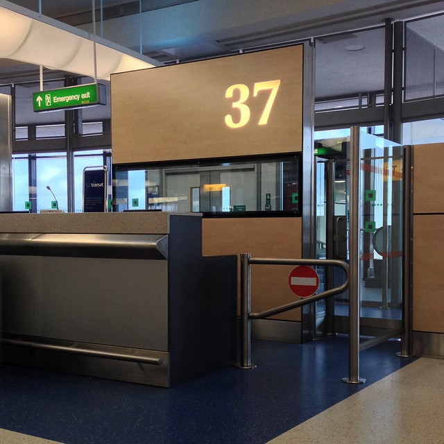 Gate 37 - Boarding for Montreal!!