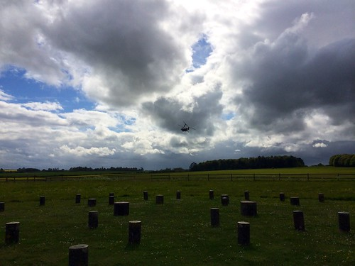 Woodhenge - view across the monument