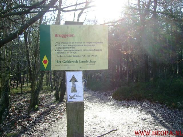 W.S.V.de Trekvogels 09-02-2008 15 Km  Apeldoorn (18)