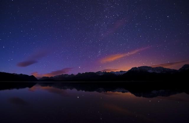 Moonrise in the Rockies