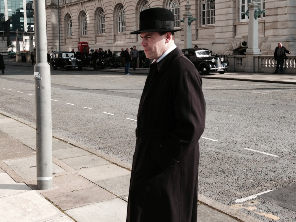 Foyle's War, Liverpool | On the set of Foyle's War with an e