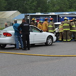 May 5, 2016 - 09:43 - Camden County Mock Wreck to raise awareness of drinking and driving. Credit: Tiffany Mentzer, Camden County Sheriff's Office