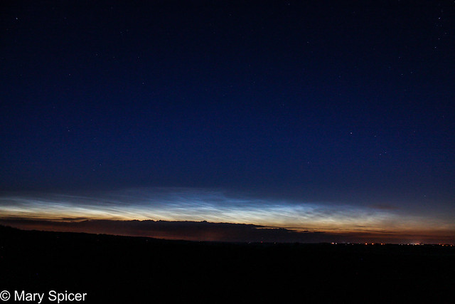 Noctilucent Clouds 2:43am GMT 04/07/16