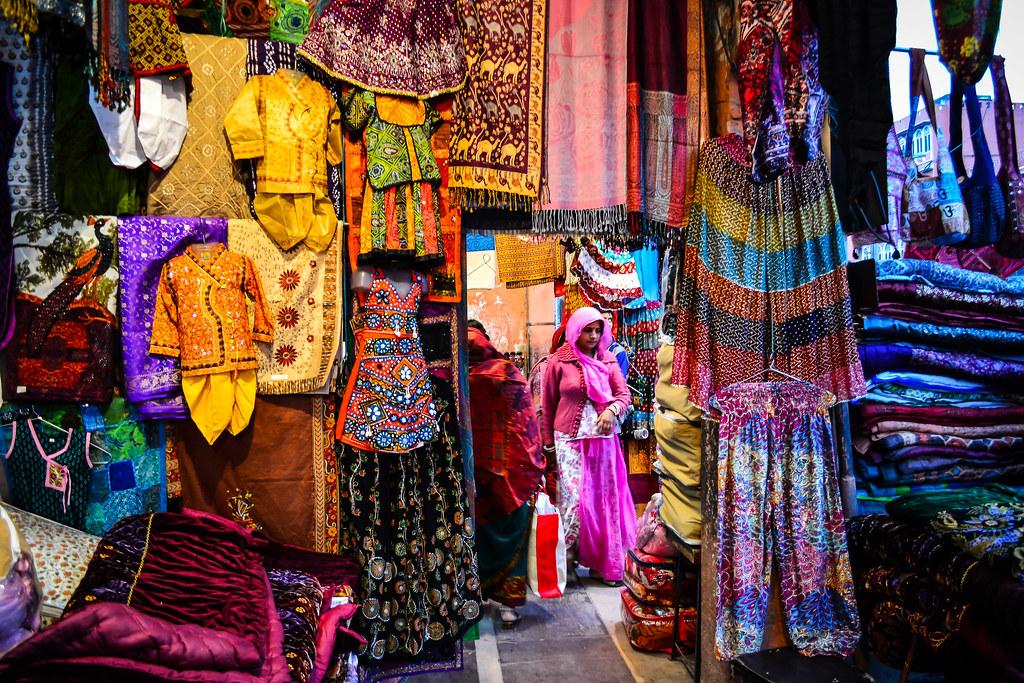 coloratissimi bazaar a Jaipur!
