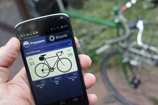Quickbeam tire pressure | by BikeTinker
