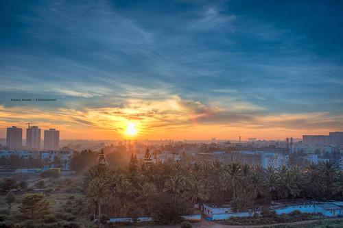 clouds sunrise photography bangalore 2013 60d sunrisehdr kudlu pankajanand pankajanand18 pankajanandphotography nonportrait2013