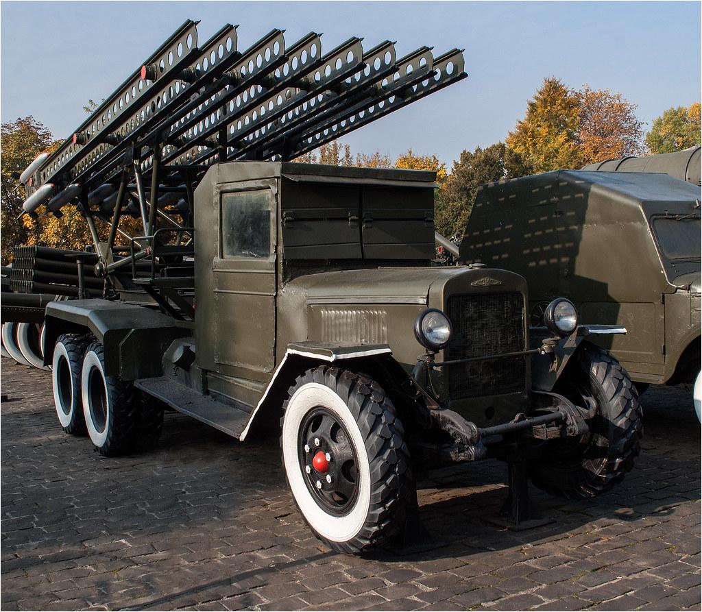 BM-13 Katyusha multiple rocket launcher #1   The museum of t