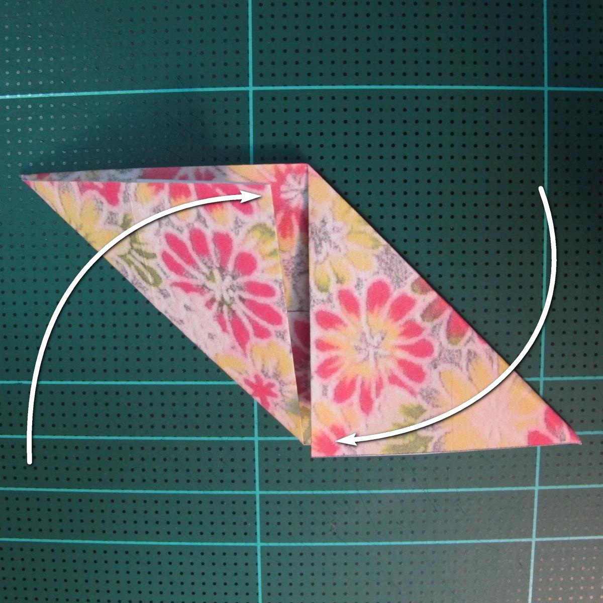 การพับกระดาษเป็นรูปเรขาคณิตทรงลูกบาศก์แบบแยกชิ้นประกอบ (Modular Origami Cube) 008