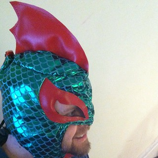 Luchador Project, Prototype #9: Luchasaurus Rex | by Jared Axelrod