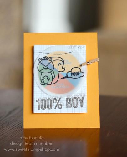 100% boy