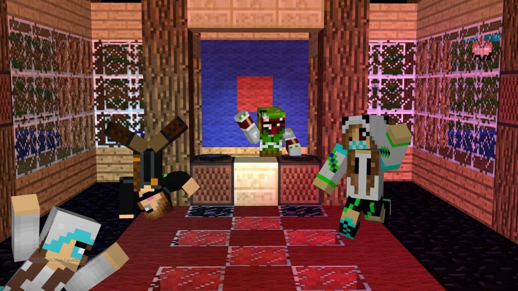 Novaskin Minecraft Wallpaper40 Pixiebunnii Flickr