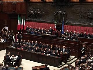 Roma, Camera dei Deputati, 3/02/2015, Giuramento Presidente della Repubblica   by flavagno