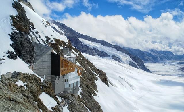 Panorama desde el Jungfrau Suiza (Explored)