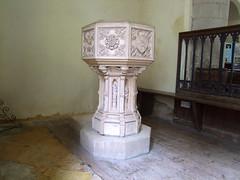 coade stone font