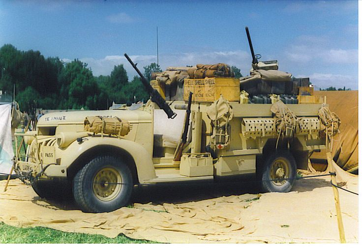 Chevrolet WB 30 cwt Patrol Truck