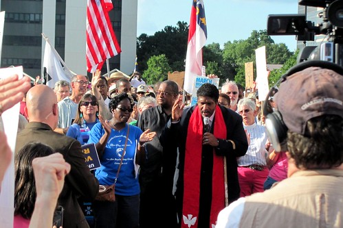 Moral Monday demonstrators | by twbuckner