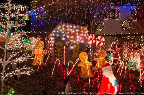 Phifers' Christmas Houses