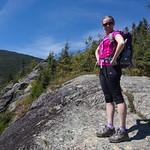 Emily the backpacker, Mount Willard
