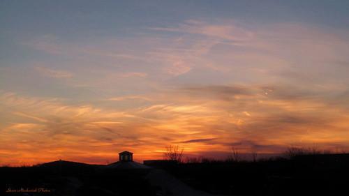 sunset sky clouds canon newjersey powershot paintedsky sx150is smack53