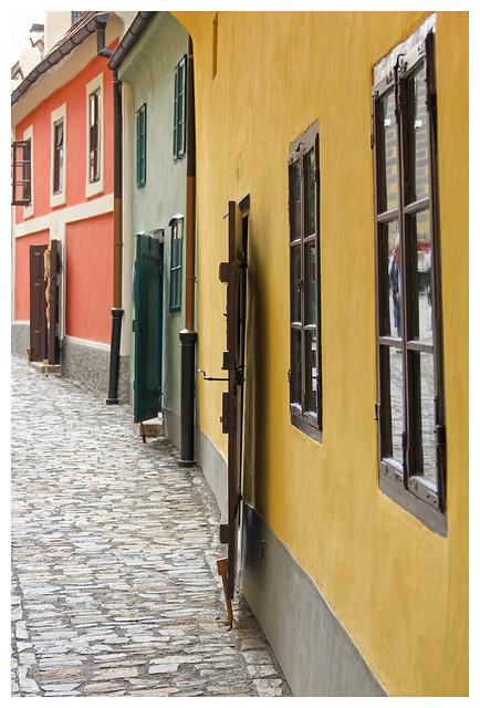 Prague - golden lane 3