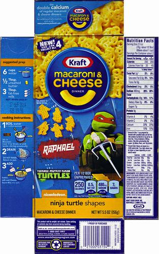 """Kraft Macaroni & Cheese :: """"TEENAGE MUTANT NINJA TURTLES"""" Shapes ; """"RAPHAEL"""" box ii  (( 2014 )) by tOkKa"""