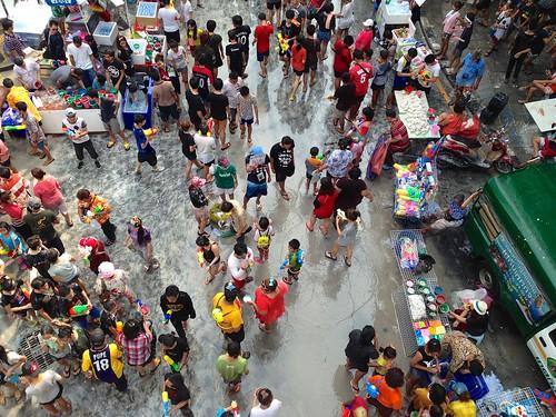 Songkran. Silom Road - Bangkok, Thailand. 30 | by james_antrobus