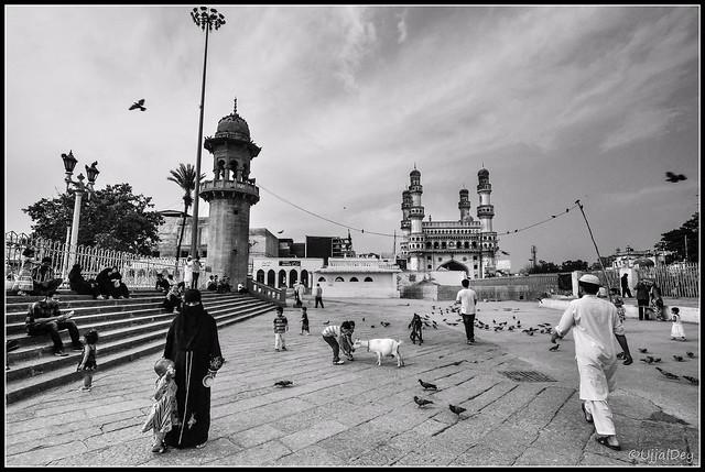 An evening at Mecca Mosque