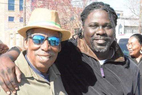 Alfred Uganda Roberts, Alexey Marti. Photo by Kichea S Burt.