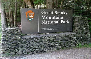 Great Smoky Mountains National Park - Entrance Sign | by jared422_80