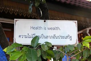 Healt is wealth. | by Yukkuriko