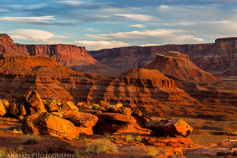 Layers of Sandstone
