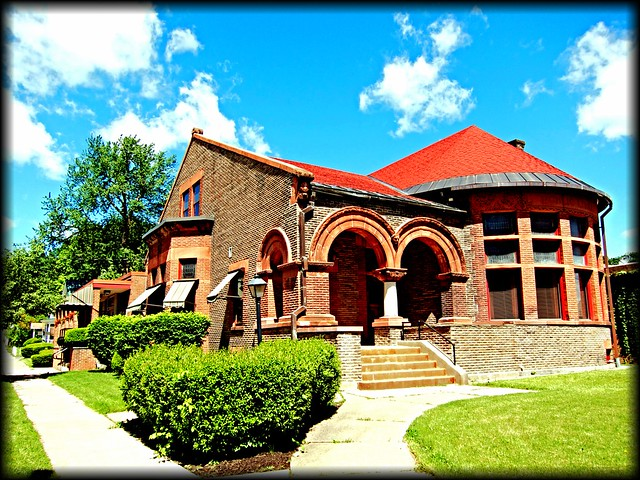 ILION FREE PUBLIC LIBRARY ~  VILLAGE OF ILION Ny ~  HERKIMER COUNTY