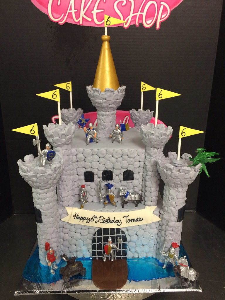 Excellent Medieval Castle Cake Exclusive Cake Shop Flickr Funny Birthday Cards Online Overcheapnameinfo