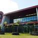 Hale'ōlelo, the new home of the UH Hilo's Ka Haka 'Ula O Ke'elikōlani College of Hawaiian Language. The $21 million complex on Nowelo Street in the University Park of Science and Technology was designed by WCIT Architects of Honolulu, led  by Rob Iopa, a graduate of Waiākea High School and Hilo native.