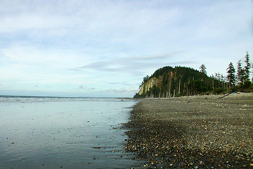 Agate Beach, Masset, Graham Island, Haida Gwaii (Queen Charlotte Islands), British Columbia, Canada