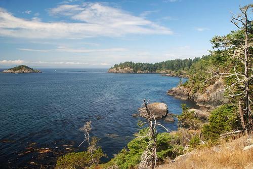 East Sooke Park on the Strait of Juan de Fuca, Sooke, Victoria, Vancouver Island, British Columbia, Canada