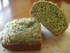 Healthy Spinach-Banana Bread