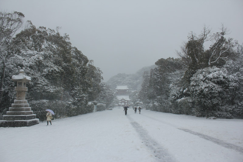 雪の鎌倉_15