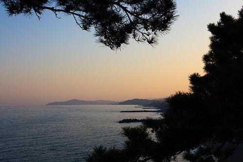 sunset beach 日本 katsurahama 桂浜 高知県 高知市