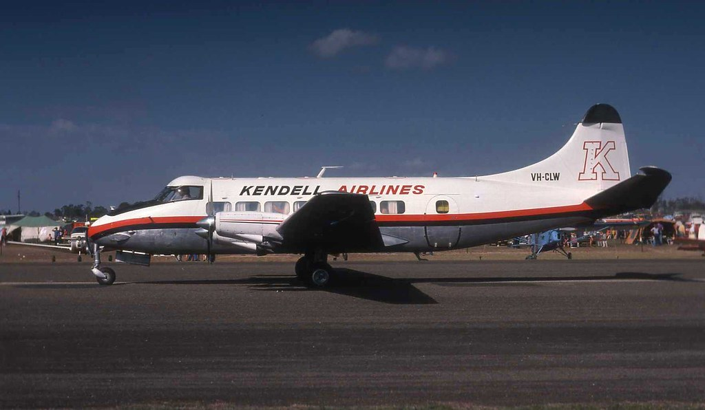 Kendell Airlines Heron VH-CLW