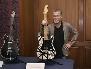 Guitar legend Eddie Van Halen at the National Museum of American History | by national museum of american history