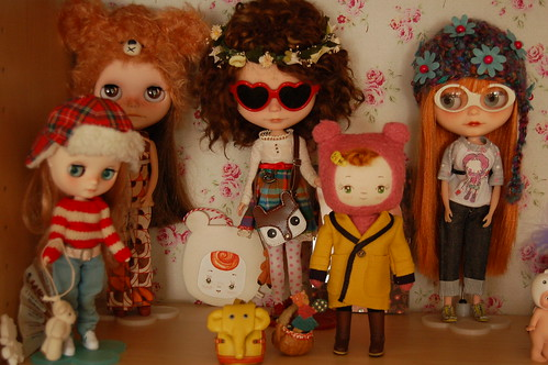 Blythes, icy, dolls and Camille